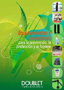 Catálogo prevención, protección e higiene